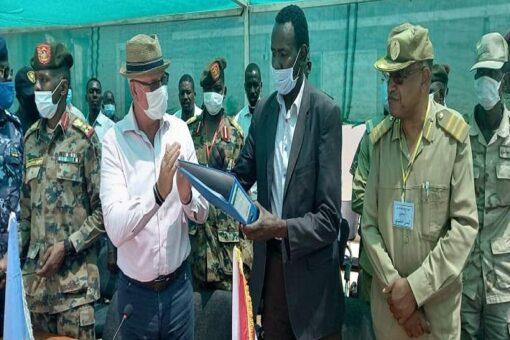 حكومة شمال دارفور تتسلم المقر الميداني لبعثة اليوناميد بمحلية كبكابية