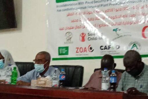 بدء أعمال الملتقي التفاكري لمفتشي وقاية النباتات بشمال دارفور
