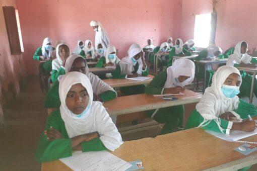 انطلاقة امتحانات شهادة الاساس بمحلية ابوحمد