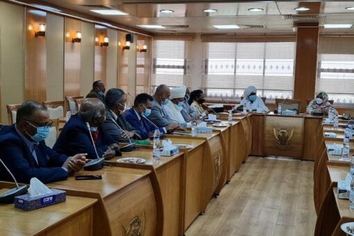 وزيرة الخارجية تلتقي القناصل الفخريين لدى السودان