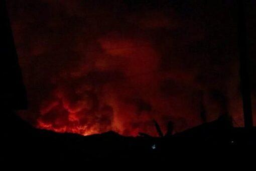 بعد توقف 18 عامًا.. ثوران بركان غوما يثير الفزع بالكونغو