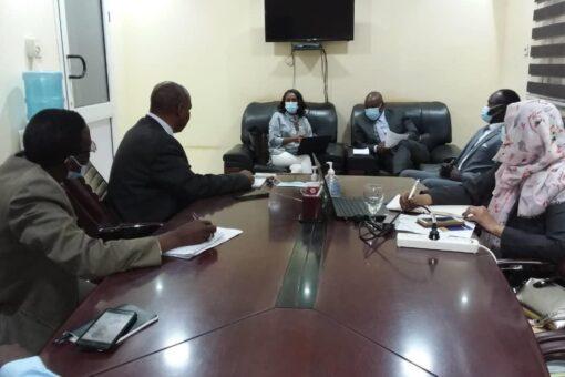 وصول اعضاء لجنة الخبراء الأفارقة لميثاق حقوق الطفل الافريقي
