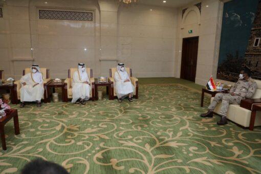 دقلو يستقبل نائب رئيس الوزراء وزير الخارجية القطري