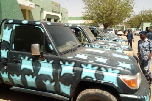 ولاية جنوب دارفور تدعم قوات الشرطة بعربات جديدة لتعزيز الأمن