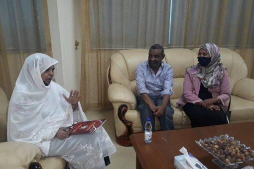 صغيرون تلتقى وفدا من أساتذة جامعة السودان للعلوم التكنلوجيا