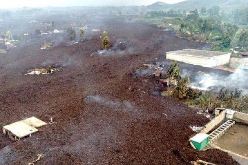 تدمير 600 منزل وتسوية 5 مدارس بالأرض جراء بركان الكونغو