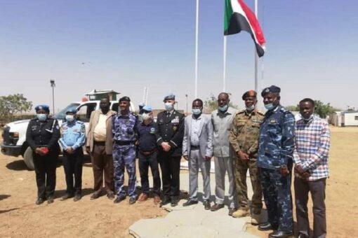 حكومة شمال دارفور تتسلم مقر بعثة اليوناميد بشنقل طوباي الإدارية