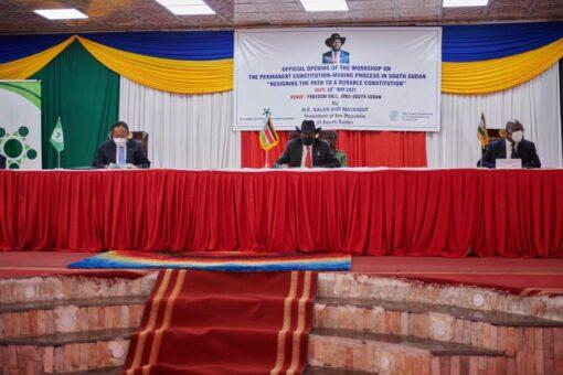 حمدوك يُشارك في ورشة وضع الدستور الدائم لدولة جنوب السودان