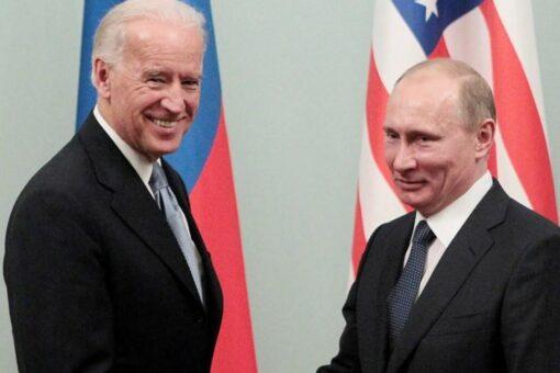 الكشف عن مكان وزمان لقاء جو بايدن بفلاديمير بوتين