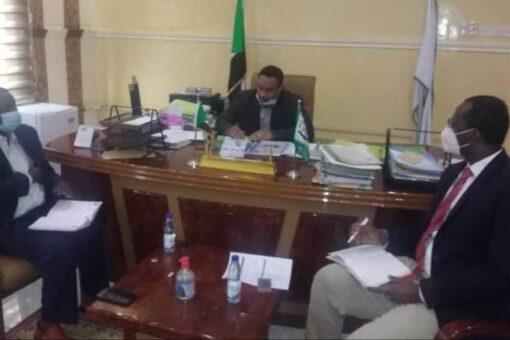 وراق يلتقي السكرتير الأول للسفارة الألمانية في السودان
