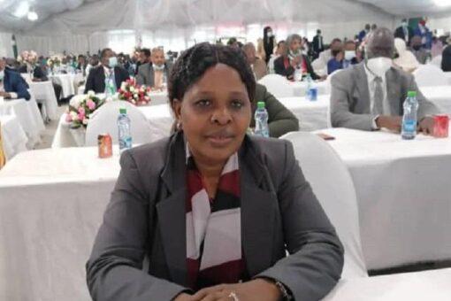 وزيرة الحكم الاتحادي تصل جوبا للمشاركة في مفاوضات السلام