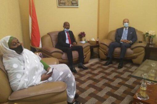 وزير الثروة الحيوانية يشيد بالعلاقات الأردنية السودانية