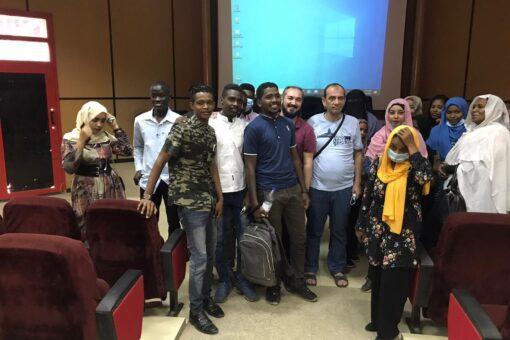 وفد جامعة شانكري التركية يختتم زيارته لجامعة السودان