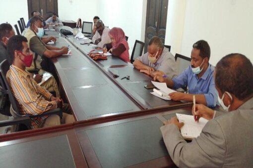 دنقلا: اجتماع اللجنة الفنية الاستشارية لطوارئ كورونا