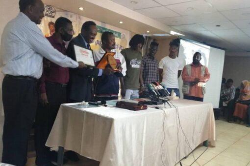 تكريم نجوم ديربي السودان