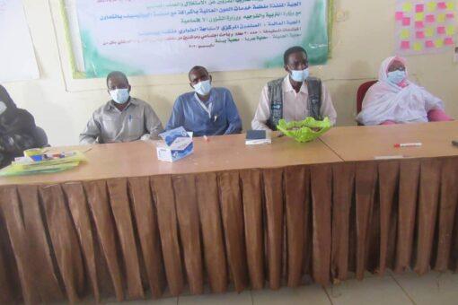 تدريب المعلمين والباحثين النفسيين بغرب دارفور لمحاربة الاستغلال والعنف الجنسي