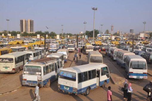 زيادة تعرفة المواصلات للخطوط الطويلة بنيالا