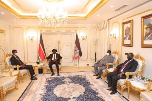 كباشي يلتقي رئيس جنوب السودان لتعزيز جهود تحقيق السلام