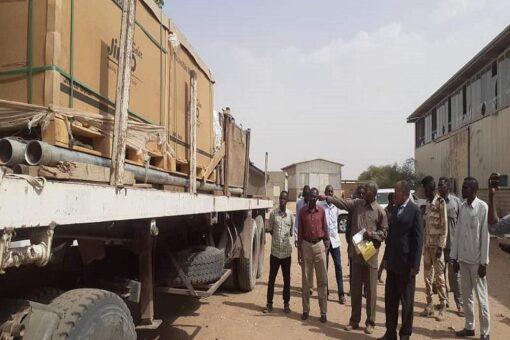جنوب دارفور تتسلم دفعة من معدات الطاقة الشمسية لمحطات المياه
