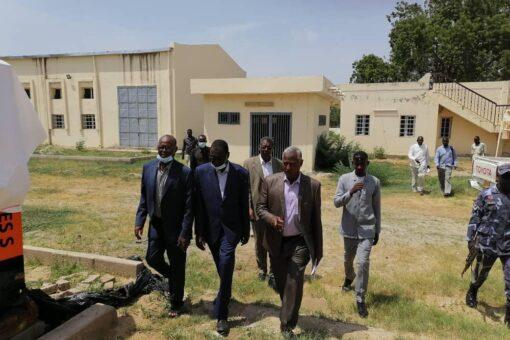 والي النيل الأزرق يثمن جهود الوكالة الألمانية للتنمية الدولية