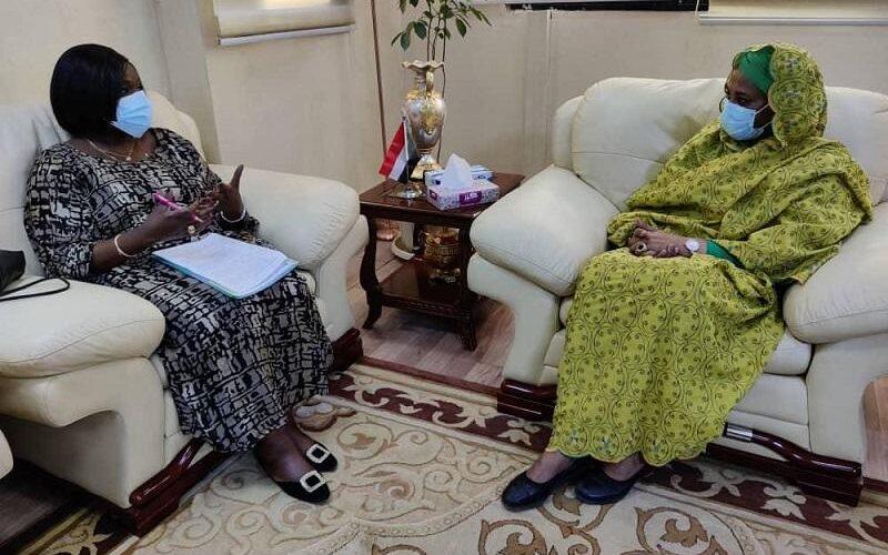 وزيرة الخارجية تستقبل نظيرتها الكينية
