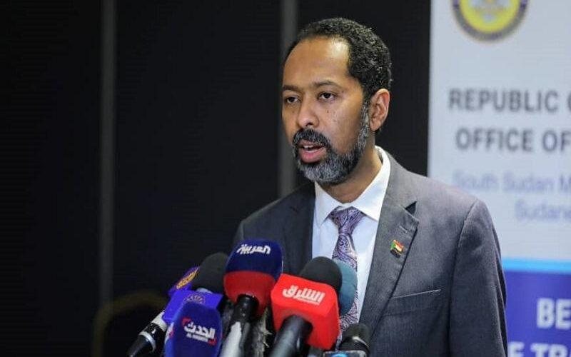خالد عمر: عازمون على التوصل لاتفاق اطاري يؤسس لتفاوض مباشر