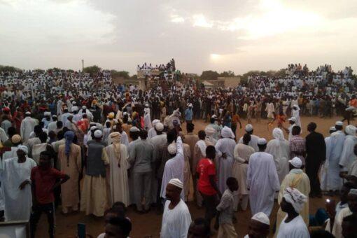 ختام مهرجان ديربي نادي البحير لسباق الخيل بجنوب دارفور