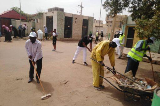 جهاز المغتربين يقود مبادرة لنظافة وإنارة وتجميل ولاية الخرطوم