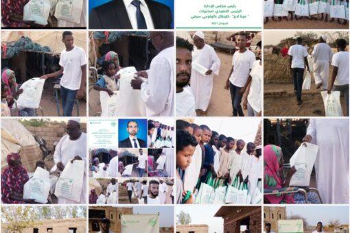 انطلاق مبادرة(كساء)للأيتام بشرق النيل برعاية سفير السلام بالجمعية النرويجية