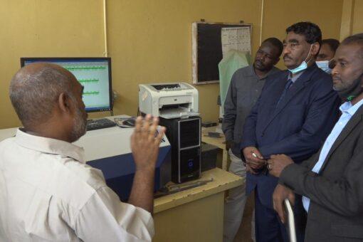 وزير الصناعة يوجه بتحديث وتطوير مسبك الخرطوم المركزي