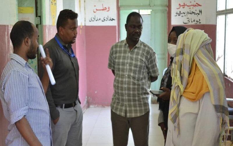 النيل الأزرق: مستشفى النساء تتسلم دعم طبي من التأمين الصحي