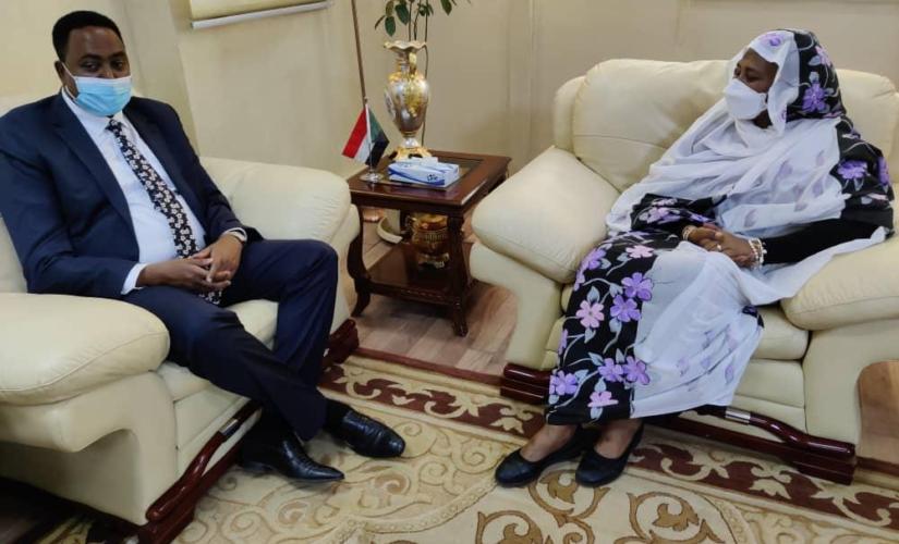د.مريم تؤكد الالتزام بمعالجة التحديات التي تواجه دول الايقاد