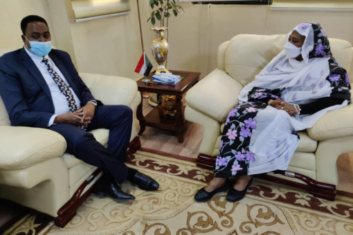 وزيرة الخارجية تشيد بالدور الرائد لسوداتل في تطور قطاع الاتصالات