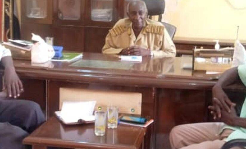 وفد وزاري ولائي يزور محلية اللعيت بشمال دارفور