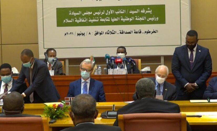 الايقاد ودول الترويكا توقع على اتفاق جوبا للسلام كشهود