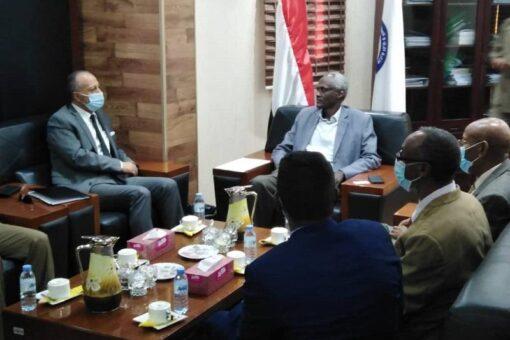 تعاون سودانى أردنى فى مجال الموارد المائية وحصاد المياه