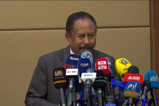 حمدوك يرحب بتوقيع الترويكا والايقاد على اتفاقية جوبا للسلام