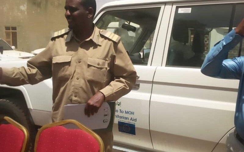 تدشن مشروع دعم النظام الصحى بغرب دارفور