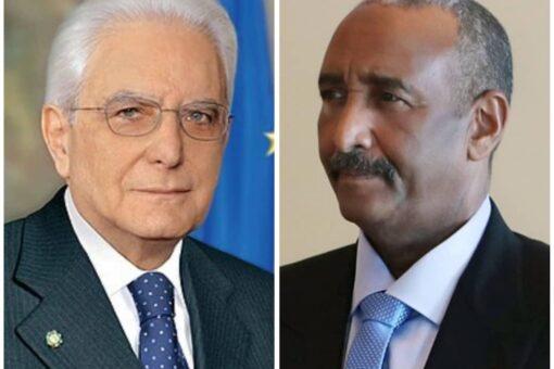 رئيس مجلس السيادة يبعث ببرقية تهنئة للرئيس الإيطالي