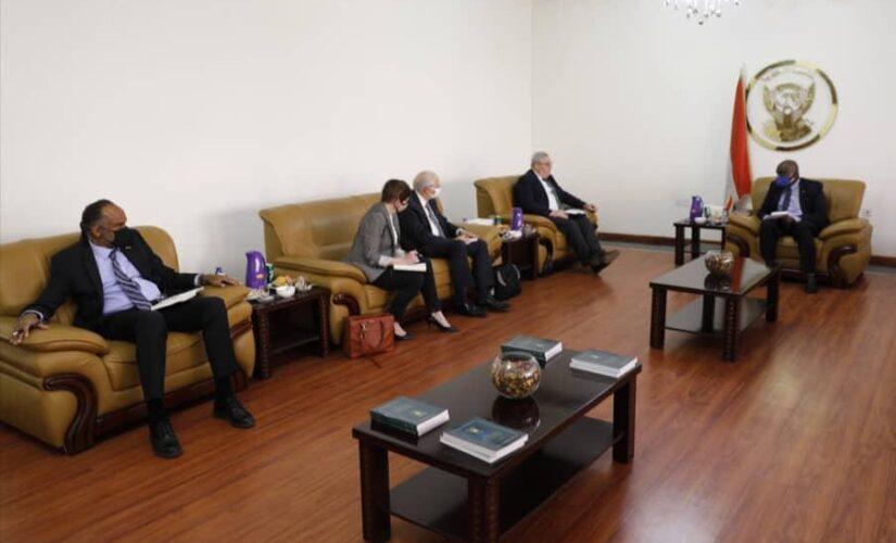وكيل وزارة الحكم الاتحادي يلتقي المبعوثين الأمريكي والبريطاني