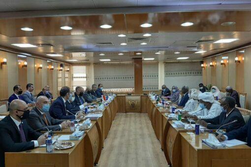 بدء جلسة المباحثات السودانية المصرية