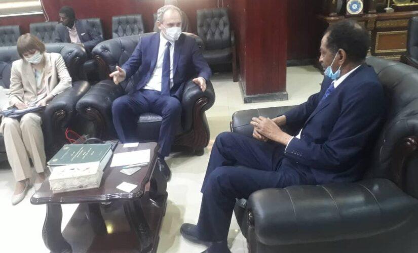 بحث أوجه التعاون الزراعى بين السودان و بيلاروسيا