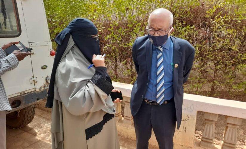 مدير جامعة السودان يتفقد كلية الطب البيطري