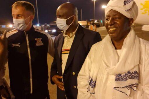 بعثة المنتخب الزامبي تصل البلاد