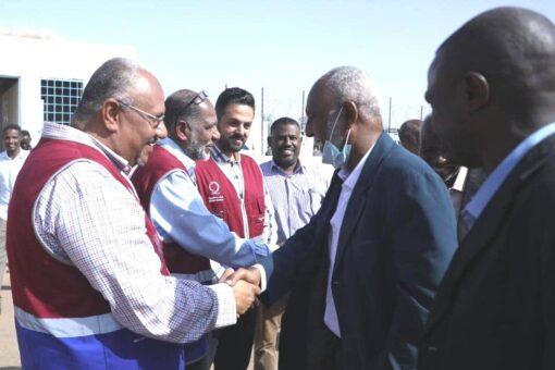 عليو يشيد بالجهود القطرية لإعمار وتنمية شرق دارفور