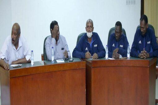 عقد الاجتماع الفني لمباراتي السودان أمام زامبيا