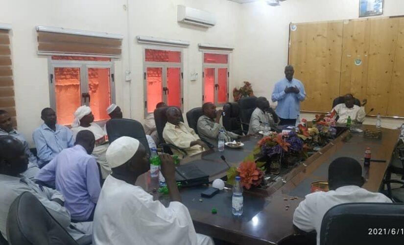 زكاة شمال دارفور تودع عددا من منسوبيها المنقولين