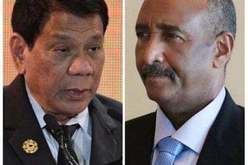 رئيس مجلس السيادة يبعث ببرقية تهنئة لرئيس الفلبين