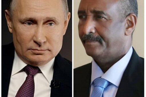 البرهان يهنئ الرئيس الروسي بالعيد الوطني