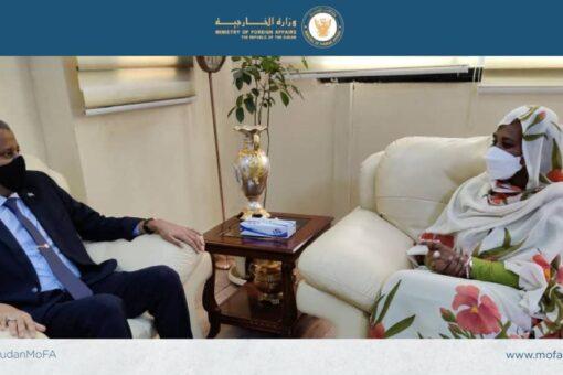 وزيرة الخارجية تستقبل سفير الصومال
